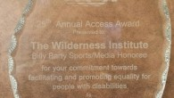 The Wilderness Institute receives Access Award for serving people with Physical Disabilities